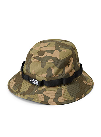 The North Face Patterned Green Utility fisherman hat for women