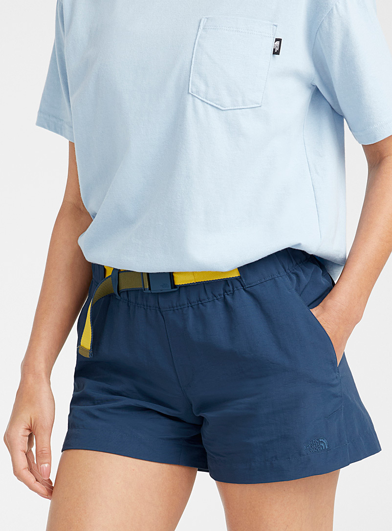 The North Face Dark Blue Buckle belt short for women