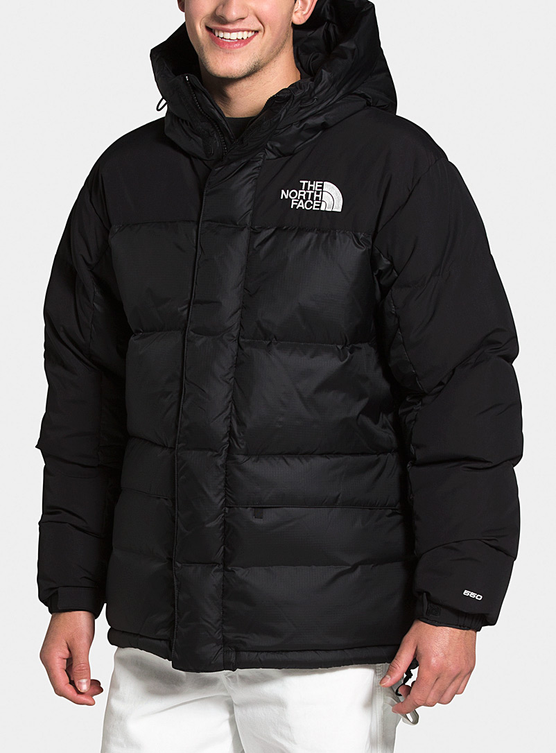 The North Face Black HMLYN quilted parka for men