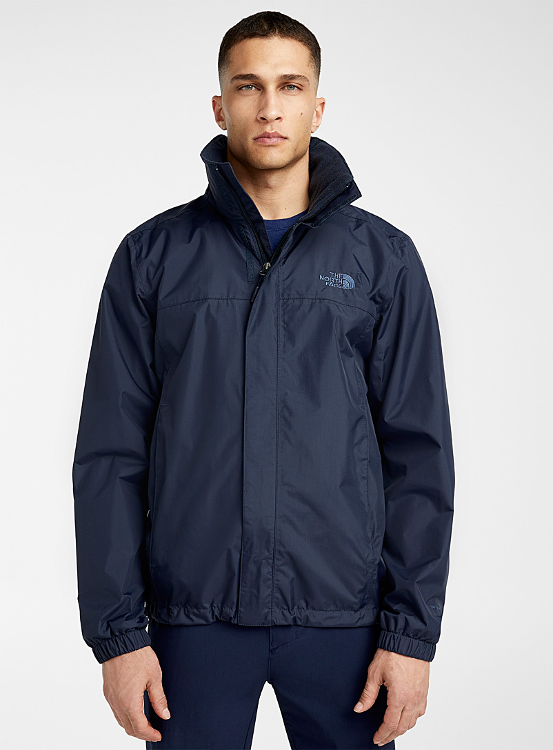 The North Face Marine Blue Solid Resolve 2 waterproof jacket for men