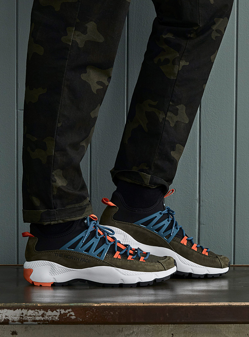 The North Face Mossy Green Trail Escape Peak sneakers  Men for men