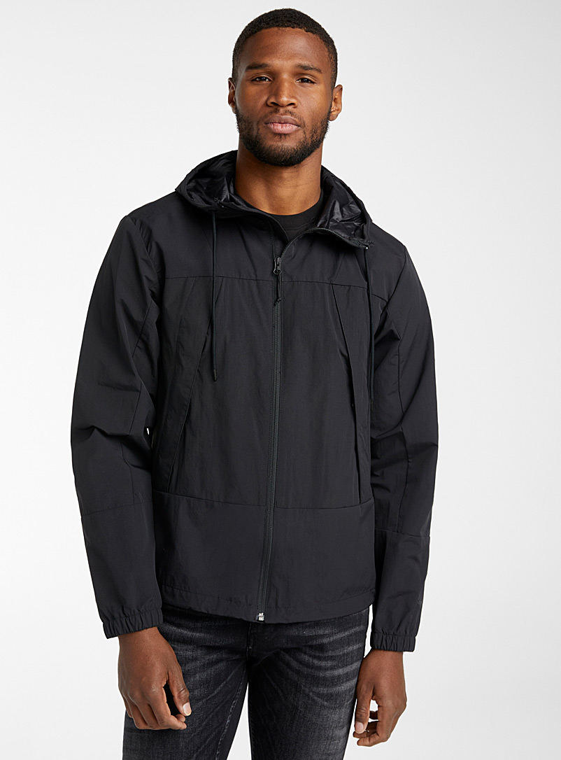 The North Face Black Retro block jacket for men