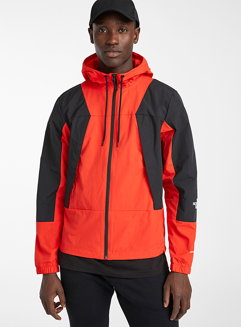The North Face Patterned Red Retro block jacket for men