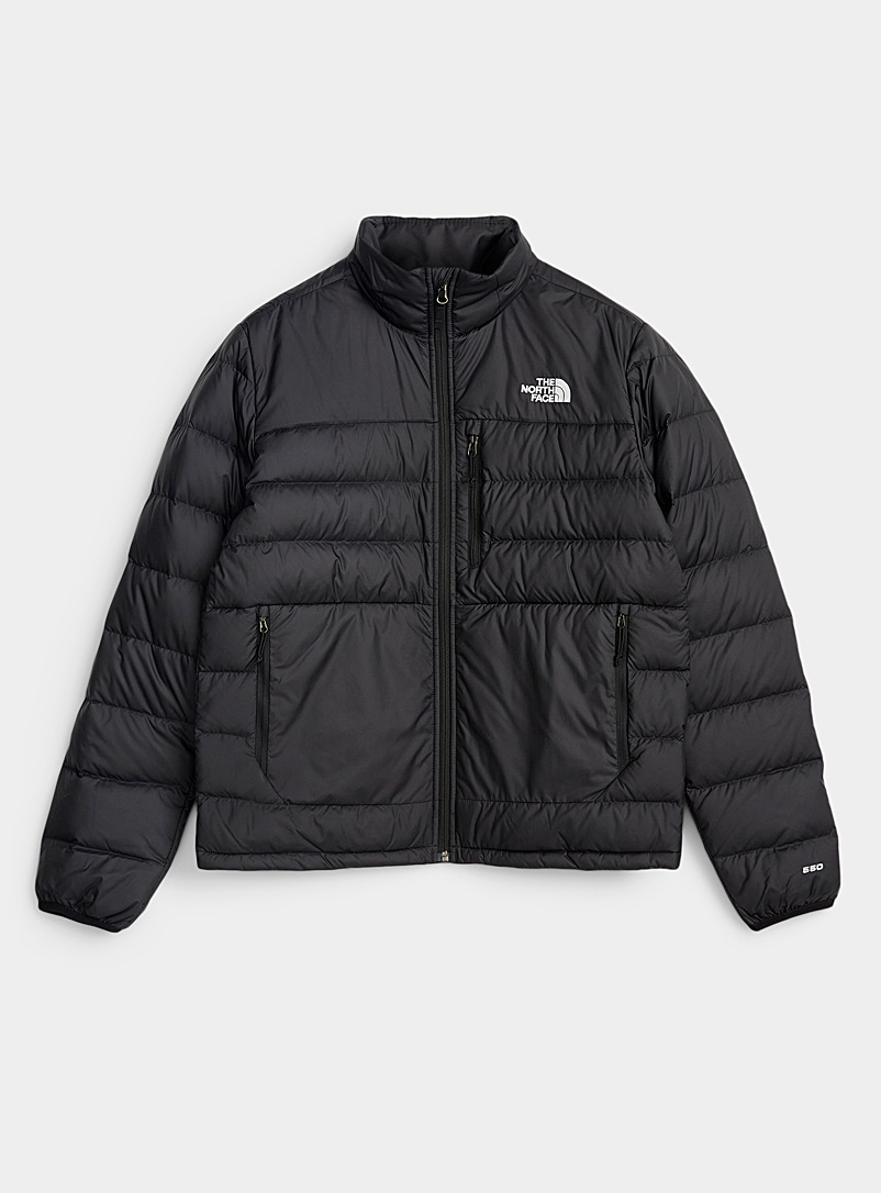 The North Face Black Aconcagua quilted jacket  Relaxed fit for men
