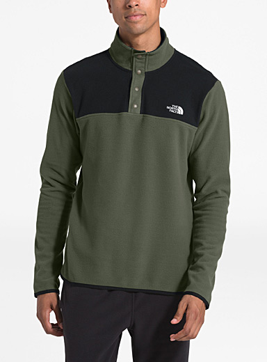 Glacier colour block fleece