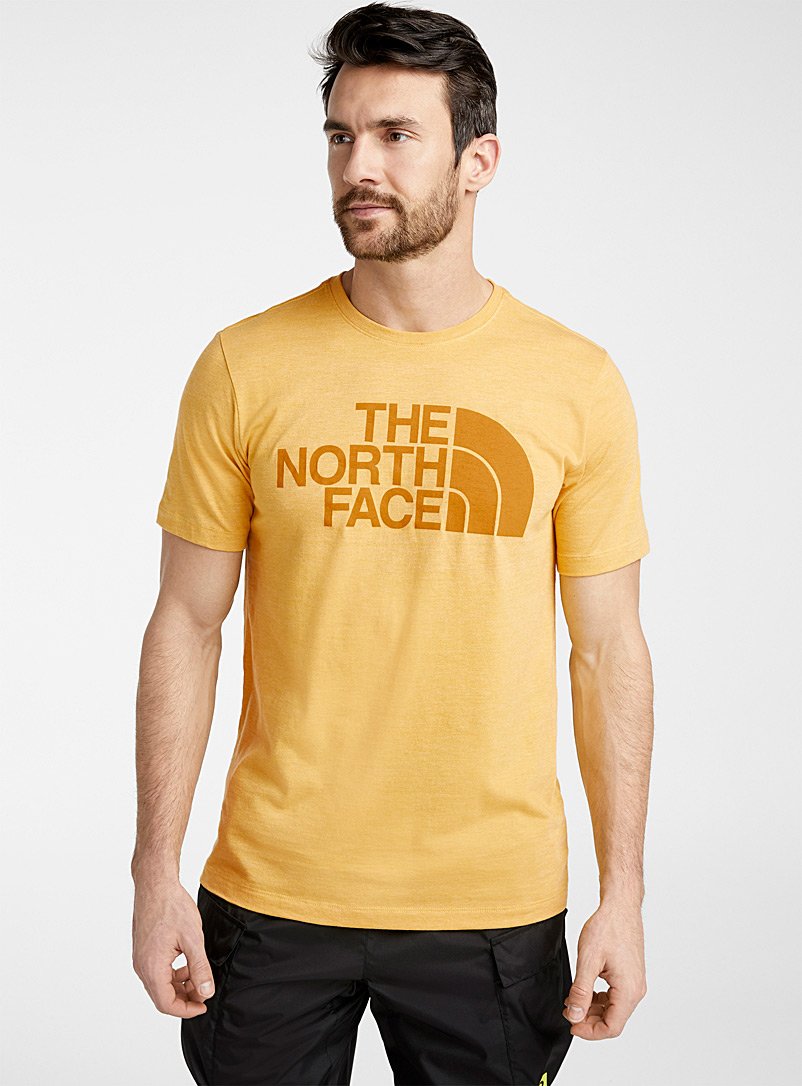 The North Face Golden Yellow Half Dome tee for men
