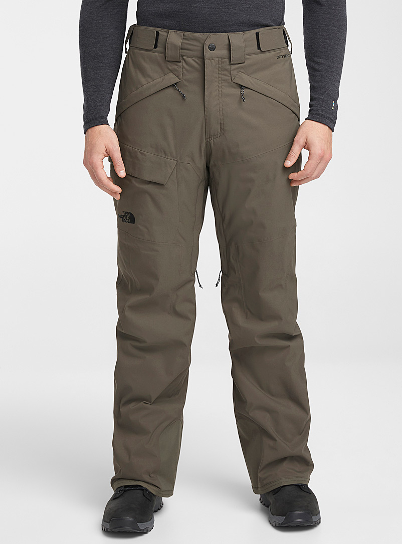 The North Face Khaki Freedom pant  Classic fit for men