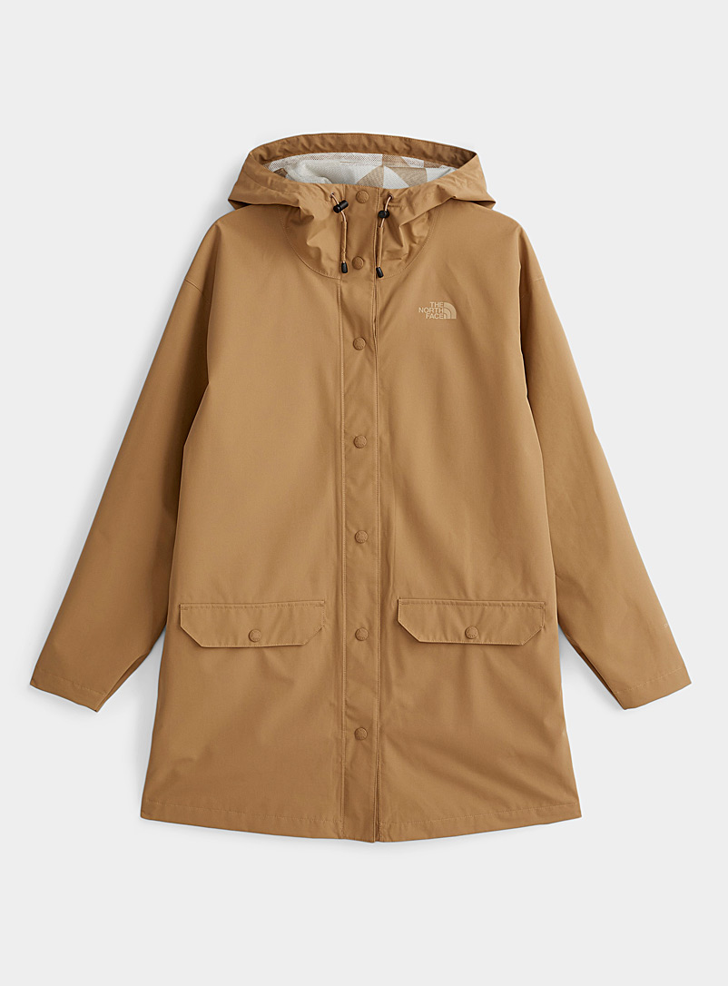 The North Face Honey Woodmont recycled fibre raincoat for women