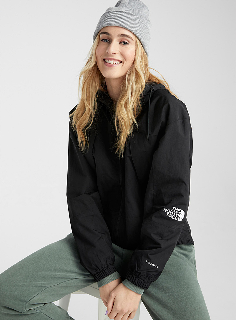 The North Face Patterned Crimson Peril windbreaker for women