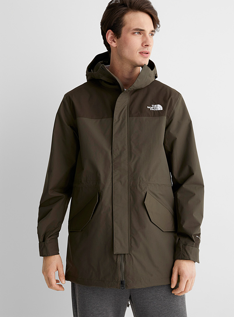 The North Face Khaki City Breeze parka for men