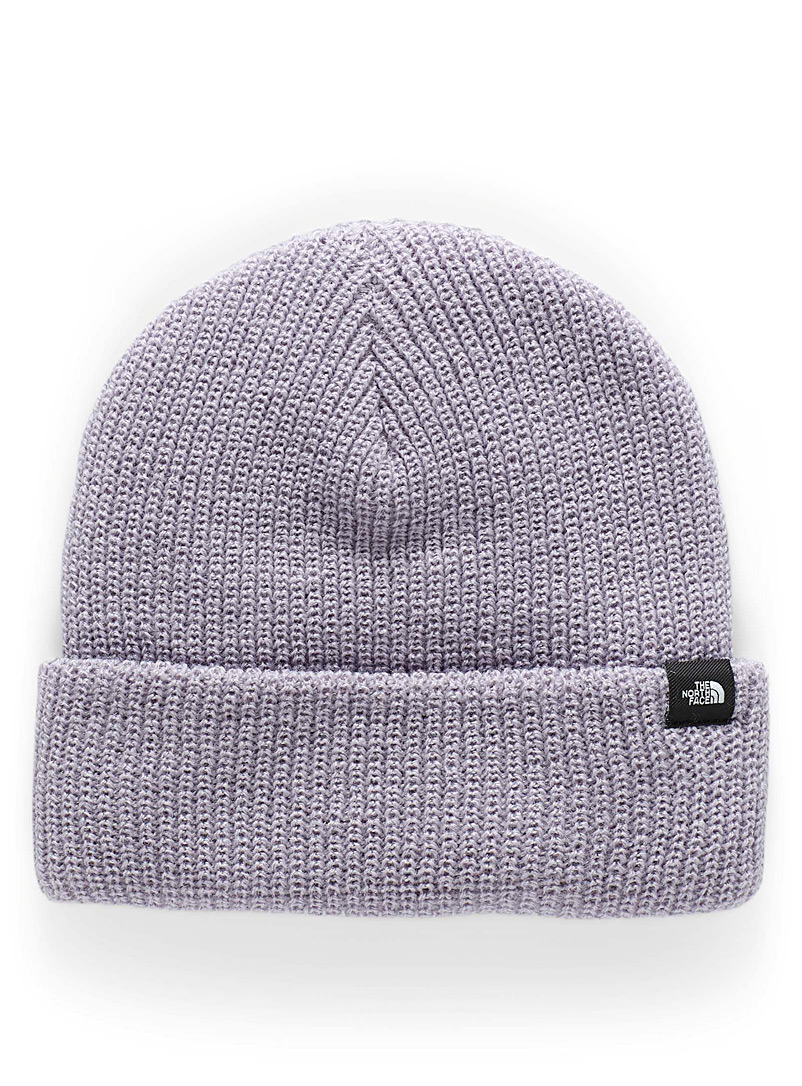 The North Face Lilacs Logo-tab short rolled tuque for men