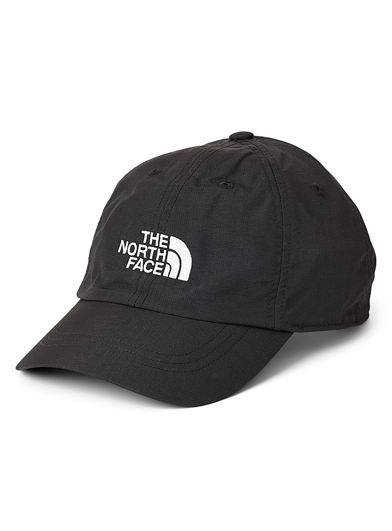 The North Face Black Horizon rugged nylon cap for men