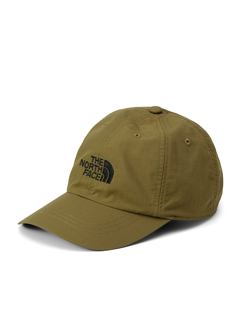 The North Face Khaki Horizon rugged nylon cap for men