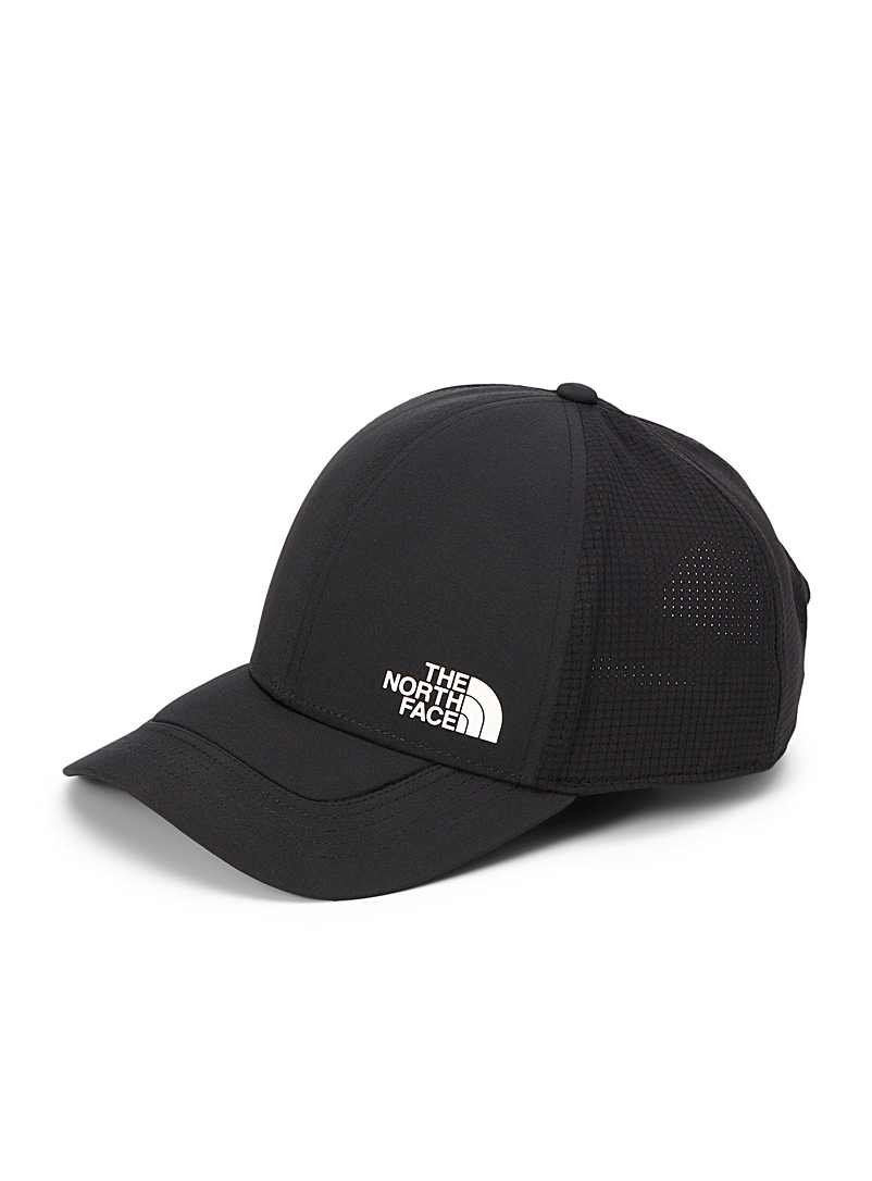 The North Face Black Logo trucker cap for men