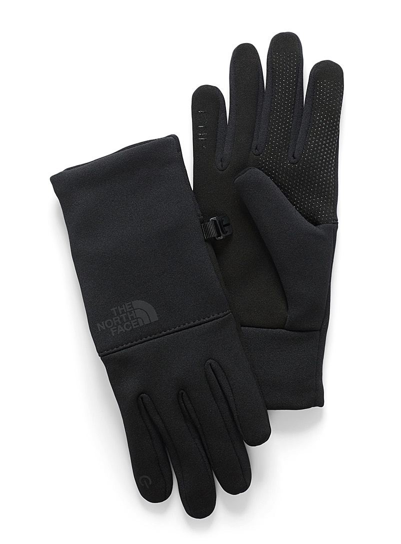 The North Face Black Etip recycled fibres gloves for women