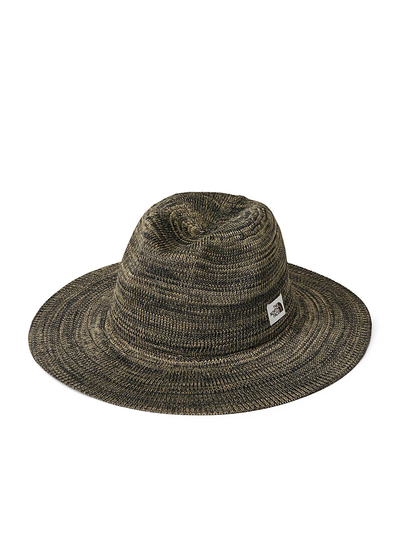 The North Face Copper brown  Heathered Panama hat for women