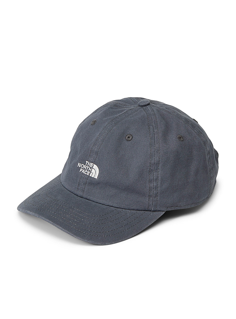 The North Face Charcoal Faded dad cap for men