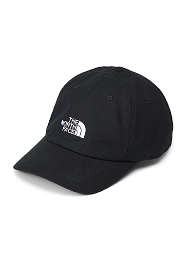 The North Face Black Logo dad cap for men