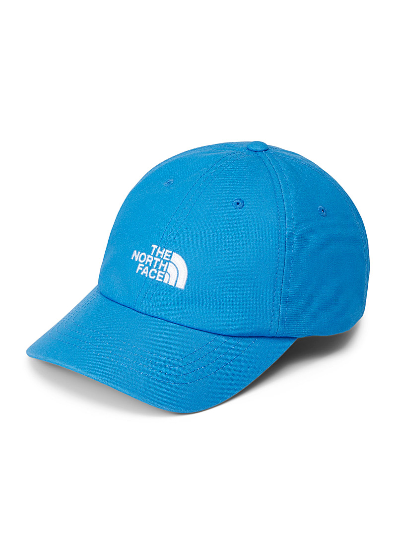 The North Face Blue Logo dad cap for men