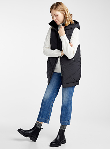 Albroz cocoon down puffer vest