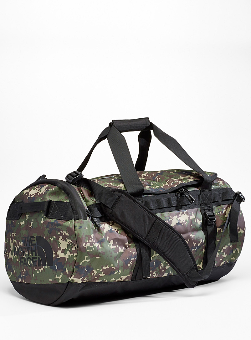 Base Camp camo weekend bag