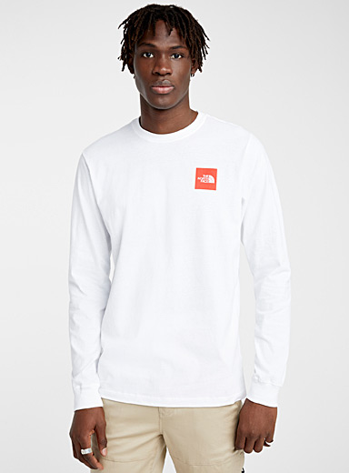 The North Face White Dome logo T-shirt for men