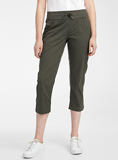 The North Face Light Brown Aphrodite Motion capris for women