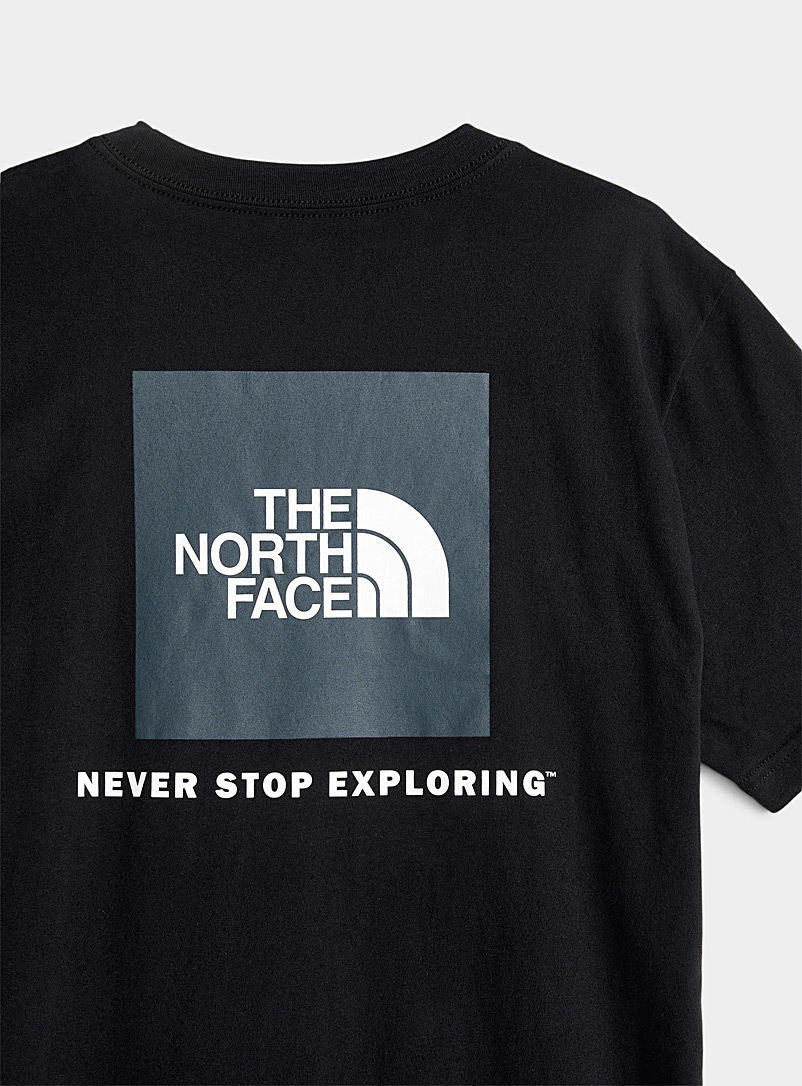 The North Face White Red Box T-shirt for men