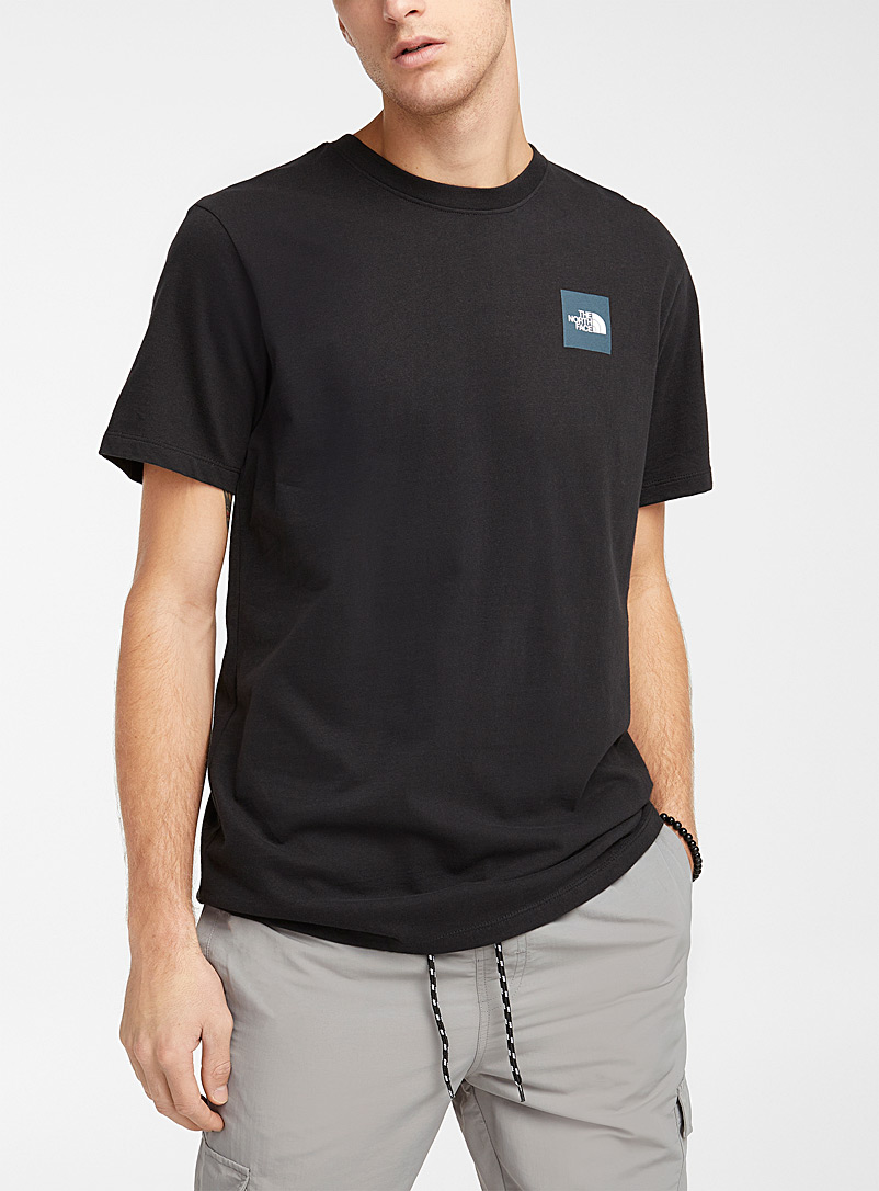 The North Face Black Red Box T-shirt for men