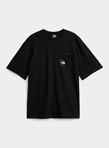Black Box mesh pocket T-shirt