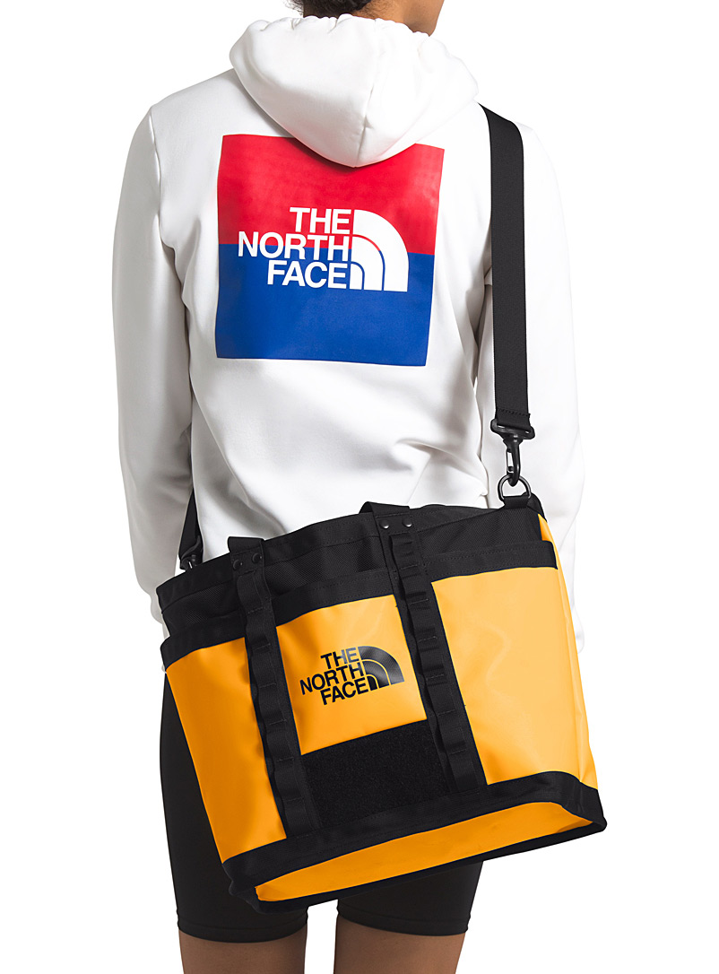 The North Face Bright Yellow Explore utility tote for men