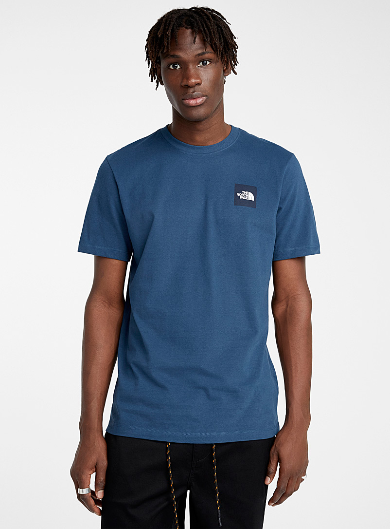 The North Face Blue Square logo T-shirt for men