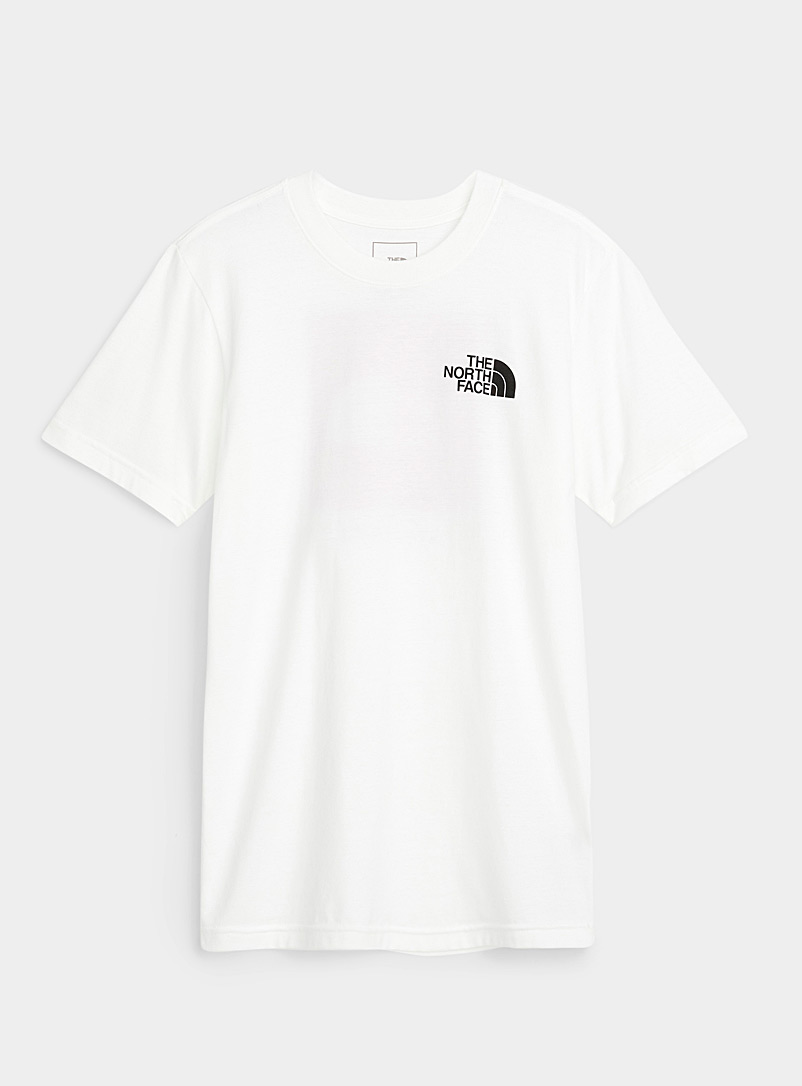 The North Face White Box short-sleeve tee for women