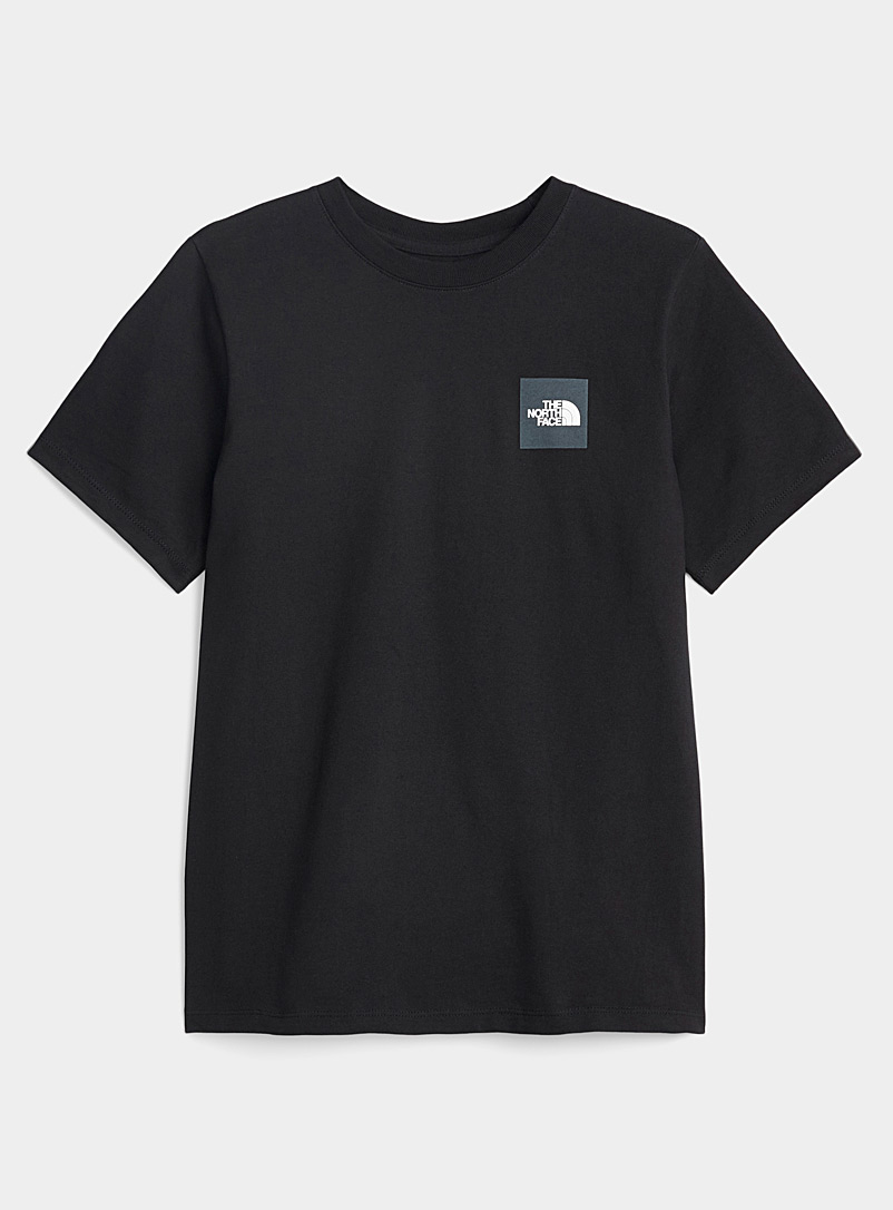 The North Face Black Red Box T-shirt for women
