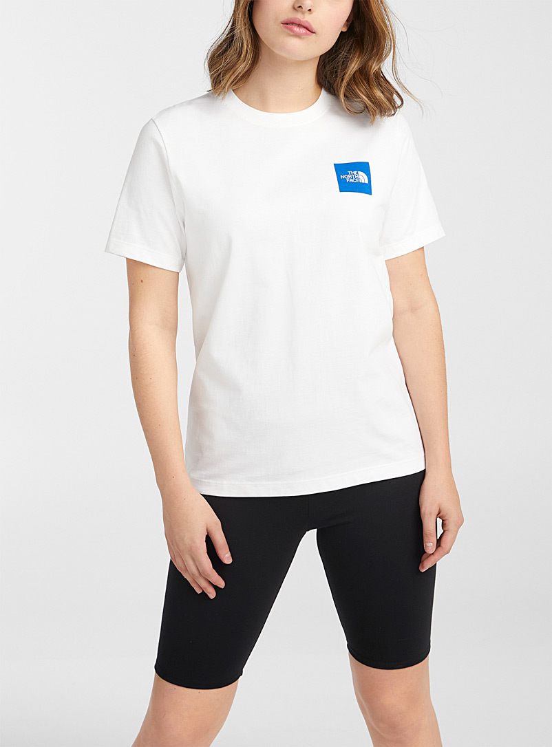 The North Face: Le t-shirt Red Box Blanc pour femme