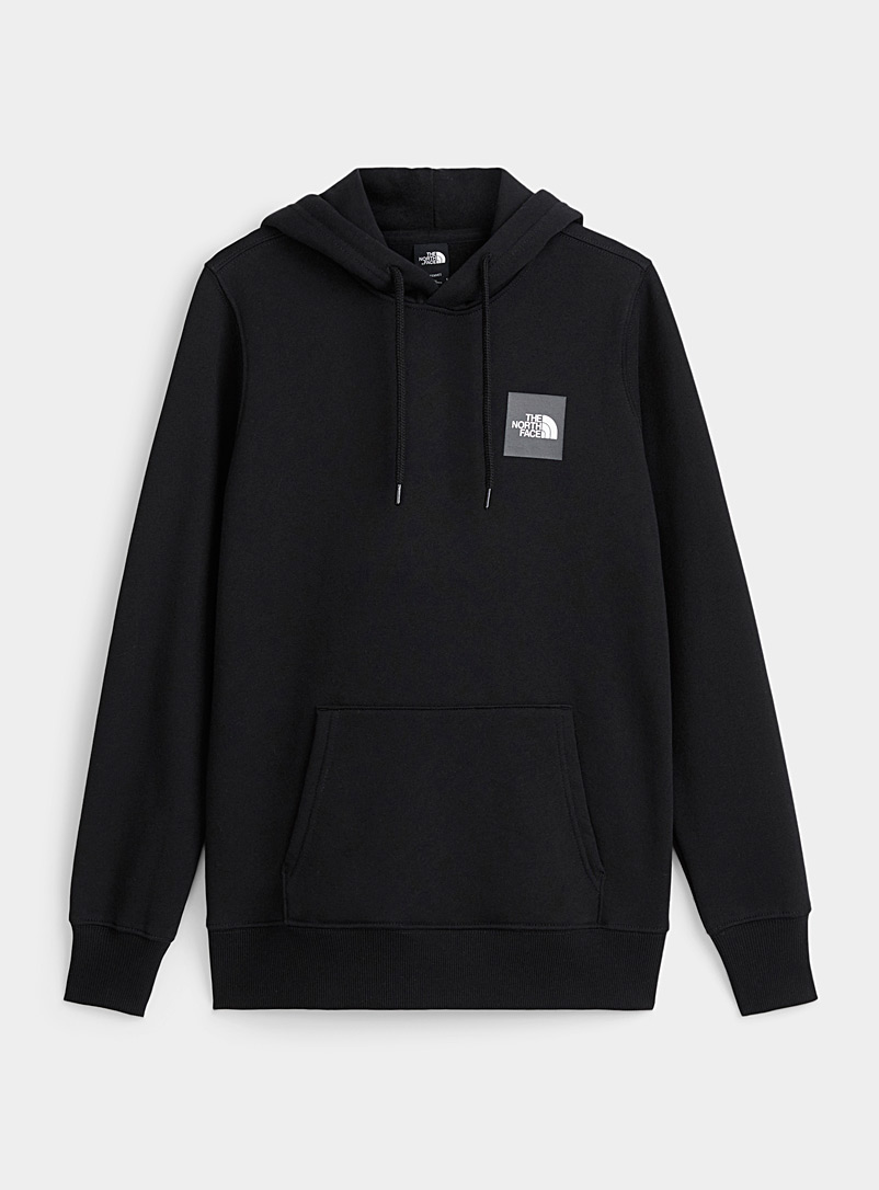 The North Face Black Red Box hoodie for women