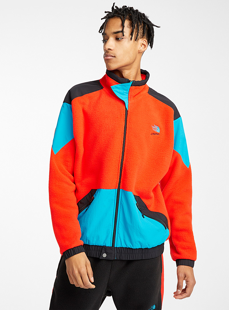 The North Face Red Extreme fleece jacket for men