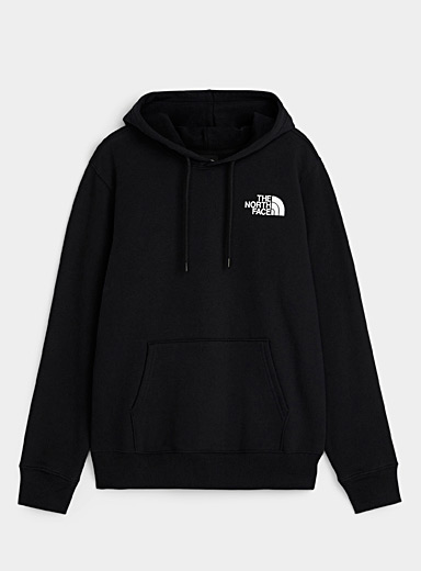 The North Face: Le kangourou logo carré Noir pour homme