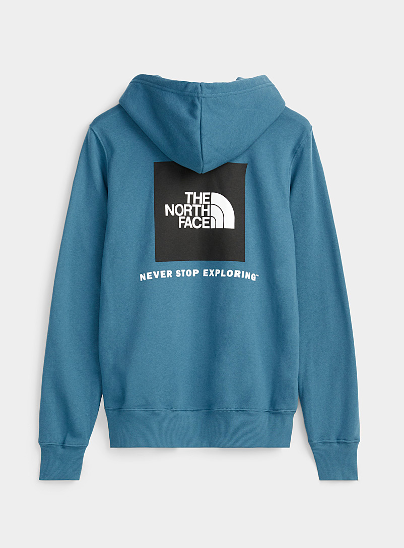The North Face Black Square logo hoodie for men