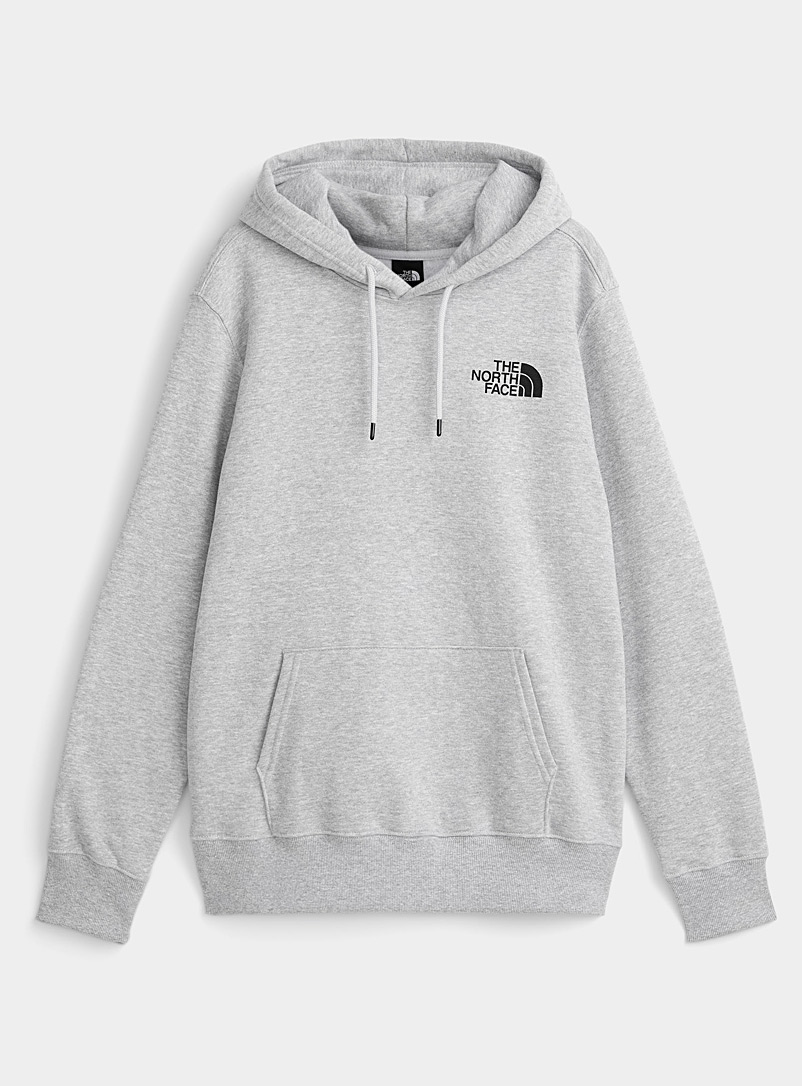 The North Face Black Black Box hoodie for men