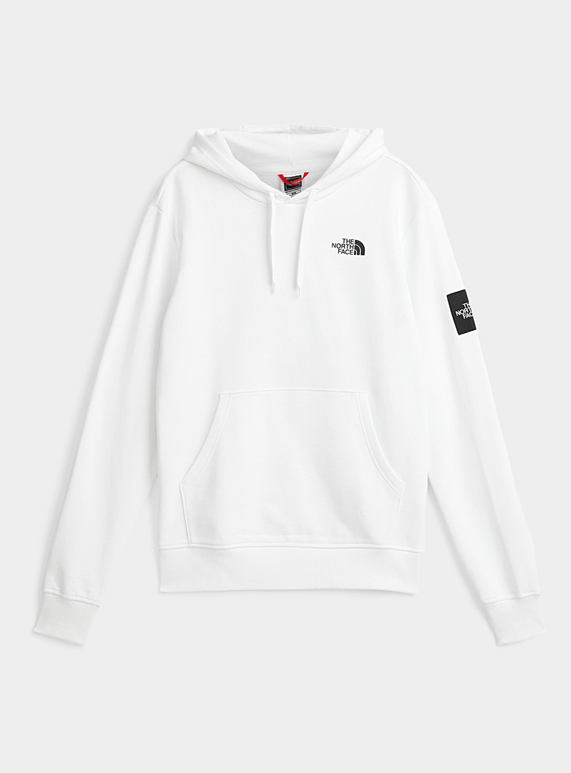 The North Face White Black Box nightmarish camping hoodie for men