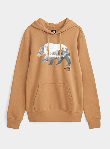 The North Face Brown Yosemite grizzly hoodie for men