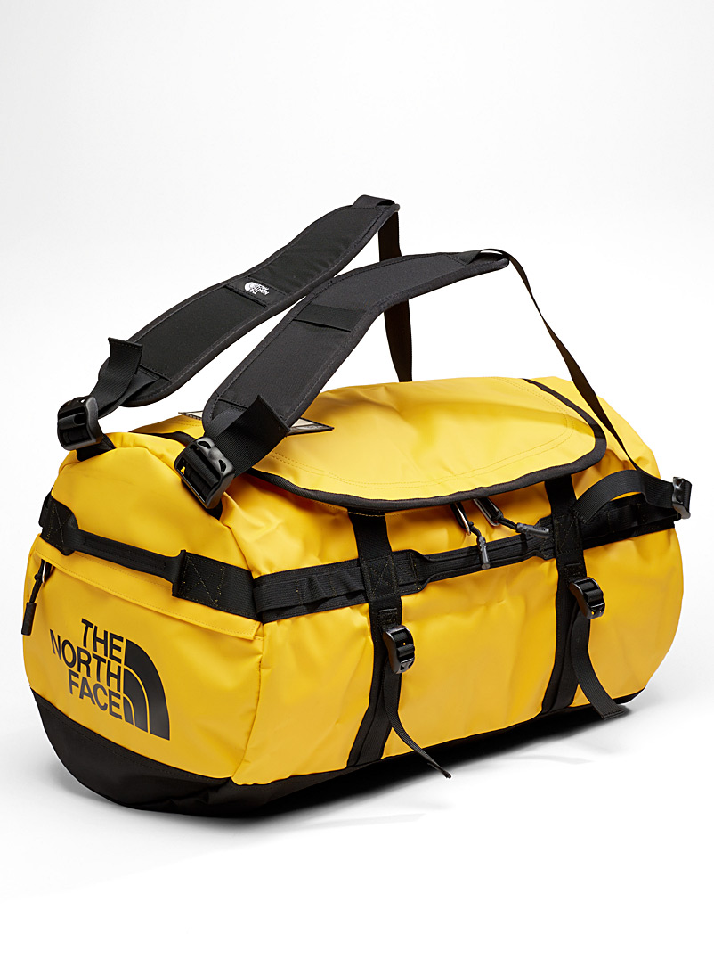 The North Face Golden Yellow Base Camp weekend bag for men