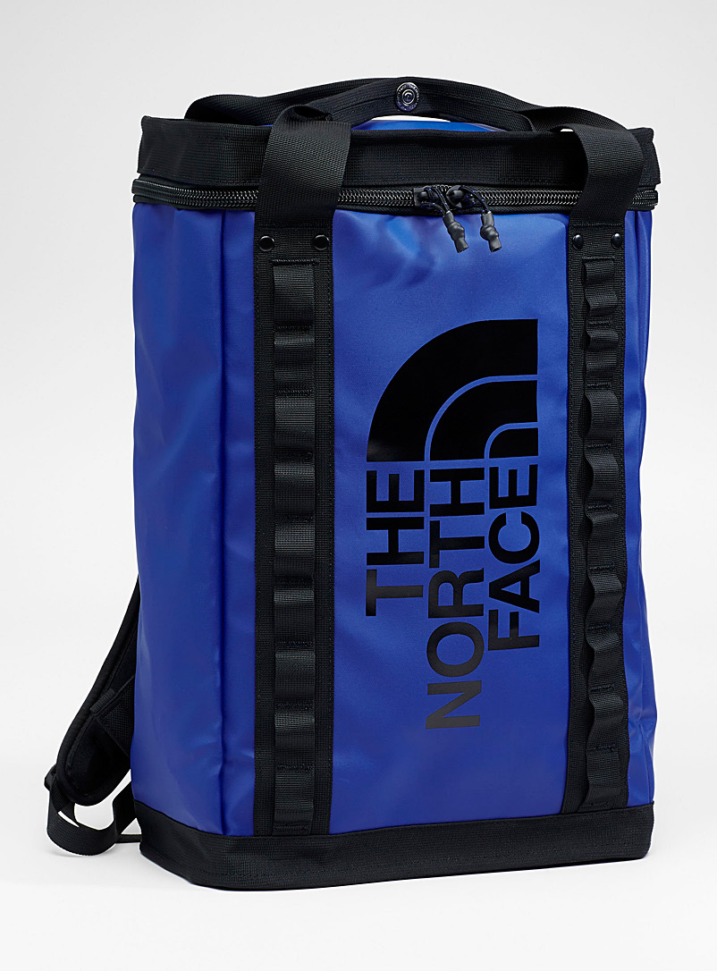 The North Face Blue Explore Fusebox backpack for men