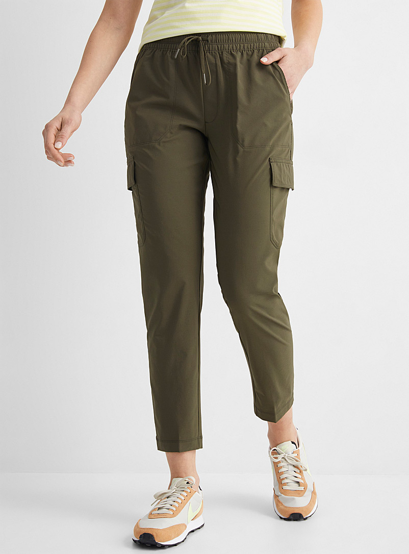 The North Face Khaki Never Stop Wearing cargo pant for women