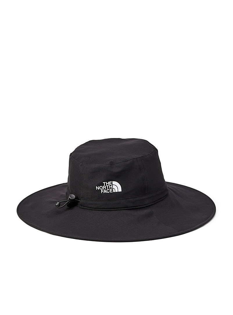 The North Face Black Twist and Pouch compact bucket hat for women