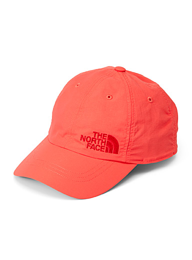 The North Face Orange-red Tone-on-tone logo cap for women