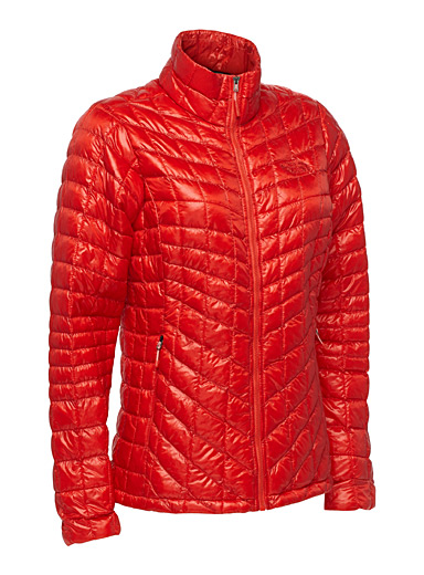 Diamond quilted Thermoball jacket  Active fit