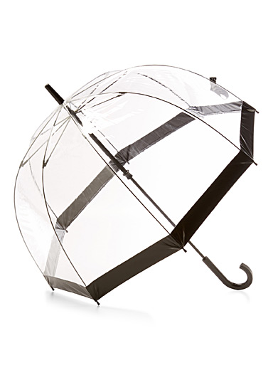 Le parapluie cloche transparent