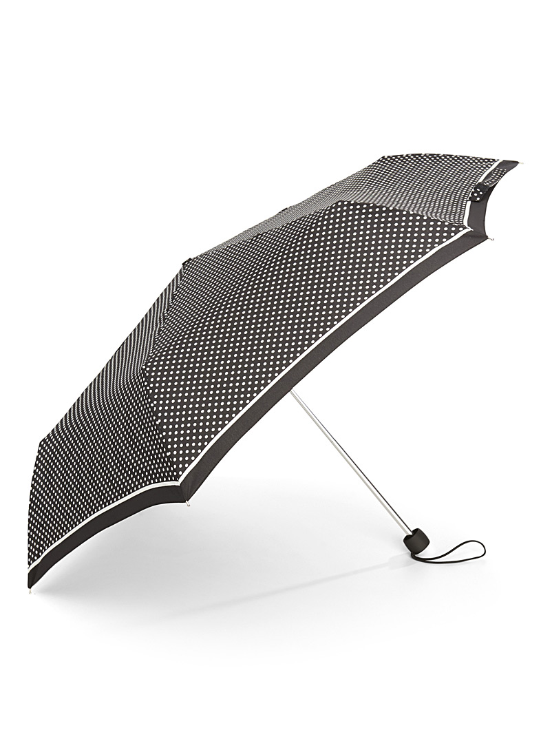 Black and white umbrella - Umbrellas - Patterned Grey